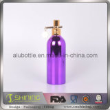 De Fles van het aluminium met UV VacuümDeklaag voor Schoonheidsmiddel
