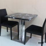 現代家具のファースト・フードのレストランのダイニングテーブル
