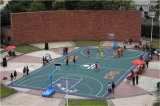 Der meiste BerufsBasketballplatz-Fußboden in Asien Nicecourt