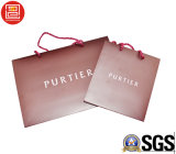 손잡이를 가진 종이 봉지 또는 인쇄되는 로고를 가진 도매 종이 봉지