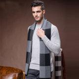 人の方法冬のウールのナイロンアクリルの編まれた暖かいスカーフ(YKY4602)