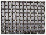 ステンレス鋼のひだを付けられた金網シート