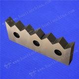 刃、プラスチックを押しつぶすための壊された刃の切断