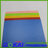 Molto PVC Rigid Sheet di Colors con 1220*2440mm Size