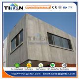 Звукоизоляционная серая панель стены доски цемента
