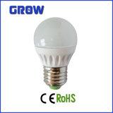 プラスチック低い電力LEDの球根ライトと高品質アルミニウム
