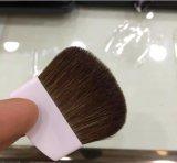 A medias alrededor de cepillo plano del Blusher del pelo del potro de la maneta se ruboriza el cepillo