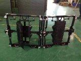Extérieurs P4.81 polychromes incurvés le Module d'aluminium de moulage mécanique sous pression