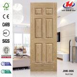 Piel de la puerta de la chapa del laminado de madera sólida del MDF