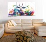 Peinture de décoration de mur -- Série d'art, peinture acrylique, peinture en verre de la peinture DEL