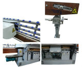 Tipo común máquina plana de cristal de 9 motores del ribete