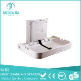 CE Higiene plegable bebé Cambio de Estación bebé Cambiador Soporte de pared para lavabo WC