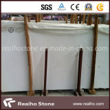 Série de marbre blanche chaude de brames de l'Italie pour la partie supérieure du comptoir de salle de toilette/dessus de vanité