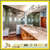 Черная изготовленный на заказ естественная каменная верхняя часть тщеты гранита для ванной комнаты, гостиницы