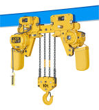 élévateur 1ton à chaînes électrique avec l'espace libre inférieur