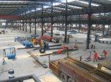 Tout l'atelier de construction préfabriquée de bâti en acier