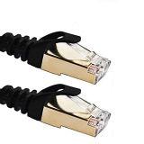 Cat7 ha protetto il cavo della zona di Ethernet RJ45 con la spina placcata oro