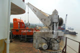 중국 25kn Single Arm Slewing Rescue Boat Raft Davit Crane
