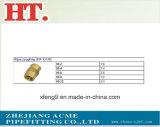 Encaixe rosqueado do NPT do acoplamento da tubulação fêmea de bronze sem chumbo (PLF x PLF)