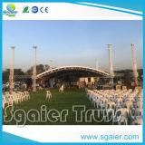 Braguero de aluminio de la etapa del partido del acontecimiento del concierto de la boda