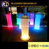 Redonda recarregável Poseur do diodo emissor de luz da mobília do lazer da decoração do partido