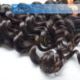 Cabelo profundo da onda, cabelo humano indiano de 100%