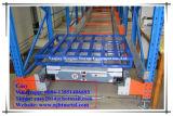 Cremalheira de rádio automática da pálete da canela da alta qualidade para o armazenamento do armazém