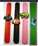 Alta qualità Plastic Promotional 3D Silicon Slap Bracelet (SB-D001)
