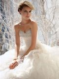[ستربلسّ] زفافيّ [بلّ غون] حبيب يزهر [أرغنزا] عرس ثياب [و1471936]