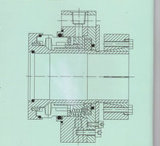 제지 기업 (HT1)에 적용되는 비표준 기계적 밀봉