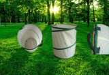 Duik de Op zwaar werk berekende Vouwende Spiraalvormige Zak van de Tuin op (Reeks rss-GB)