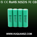 18650 2500mAh Li-ion Rechargerable Battery