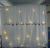 Wedding занавес звезды Fairy света белый СИД (AL-306)