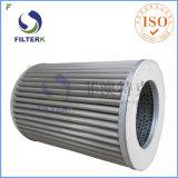 Filtre plissé par polyester de gaz naturel de l'Italie de rechange de Filterk
