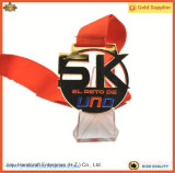 金Zinc Alloy 5k Running Finisher Award Medal (JINJU16-027)