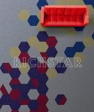 Nylon плитка ковра с Затыловк-Сотом PVC
