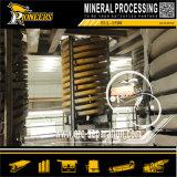 Arena del Zircon del concentrador del espiral de la máquina de la reducción