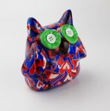 Caixa da economia do dinheiro da venda por atacado do banco da coruja da cerâmica