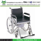 Aluminio Ligero plegable con orinal Silla, Silla plegable WC ancianos
