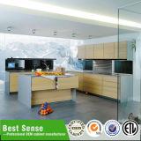 広州の最もよい感覚現代熱い押すデザイン積層の食器棚