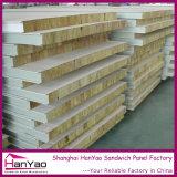 Изолированная пожаробезопасная стальная панель сандвича шерстей утеса для стены