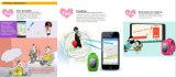 Reloj elegante del GPS del silicón de los niños coloridos del teléfono Q50