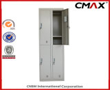 Locker 4 문 Metal 강철 School Furniture Steel 갱의실 Locker Gym Clothing Cabinet Cmax-SL04-001