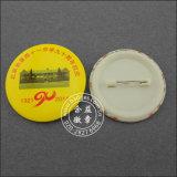 Distintivo variopinto dello stagno del tasto di stampa su ordinazione del distintivo (GZHY-MKT-008)
