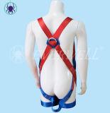 Cablaggio pieno del corpo, cavo di sicurezza, cintura di sicurezza, cinghia di sicurezza, tessitura con il modo fisso del Un-Punto (EW0311H)