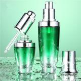 Botella vacía ambarina de cristal del petróleo esencial (klc-5)