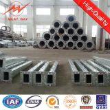 Q345 galvanisierter achteckiger elektrischer Stahlpole