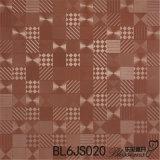 Carrelage glacé par porcelaine de la géométrie de matériau de construction (600X600mm)