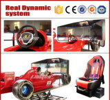 Galleria popolare Racing Car Game Machine Coin Operated F1 Car Racing Simulator da vendere