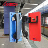 Telephone antico con Handset Security Mining Telephone Kntech Knzd-14